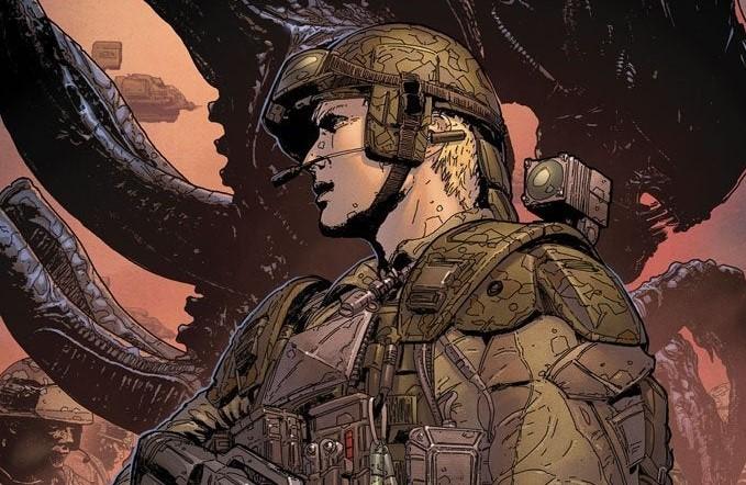 """Dark Horse Comics: i primi dettagli della nuova serie """"Aliens – Colonial Marines: Rising Threat"""""""